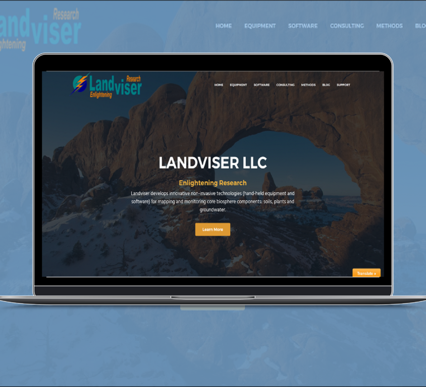 Website Design – Scientific Equipment