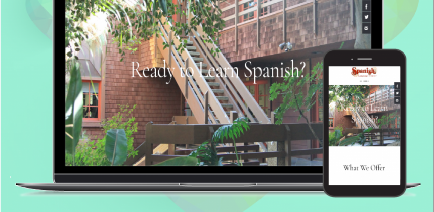 Website Redesign for Spanish Language Center