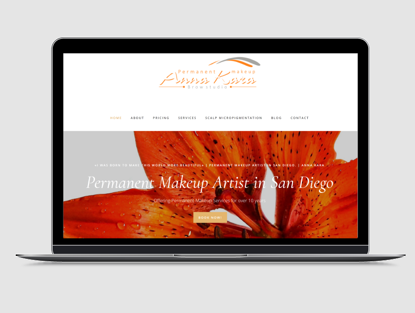 SEO Results for Local Permanent Makeup Artist