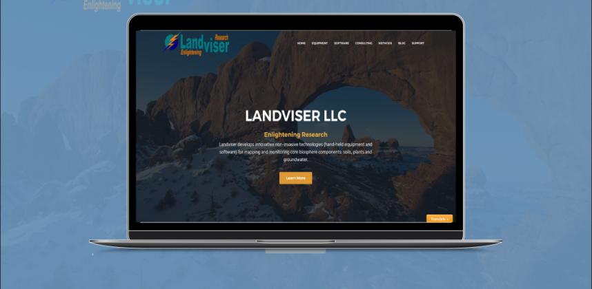 Website Design – Scientific Equipment